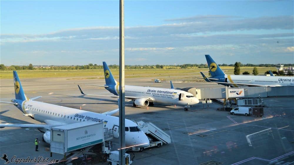 Прямые рейсы из аэропорта Борисполь в Анкару выполняет авиакомпания МАУ
