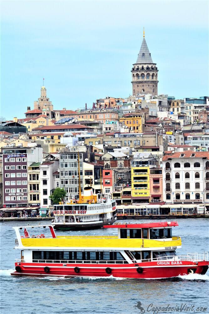 Чтобы отлично провести время в Стамбуле надо прокатится на кораблике по Босфору