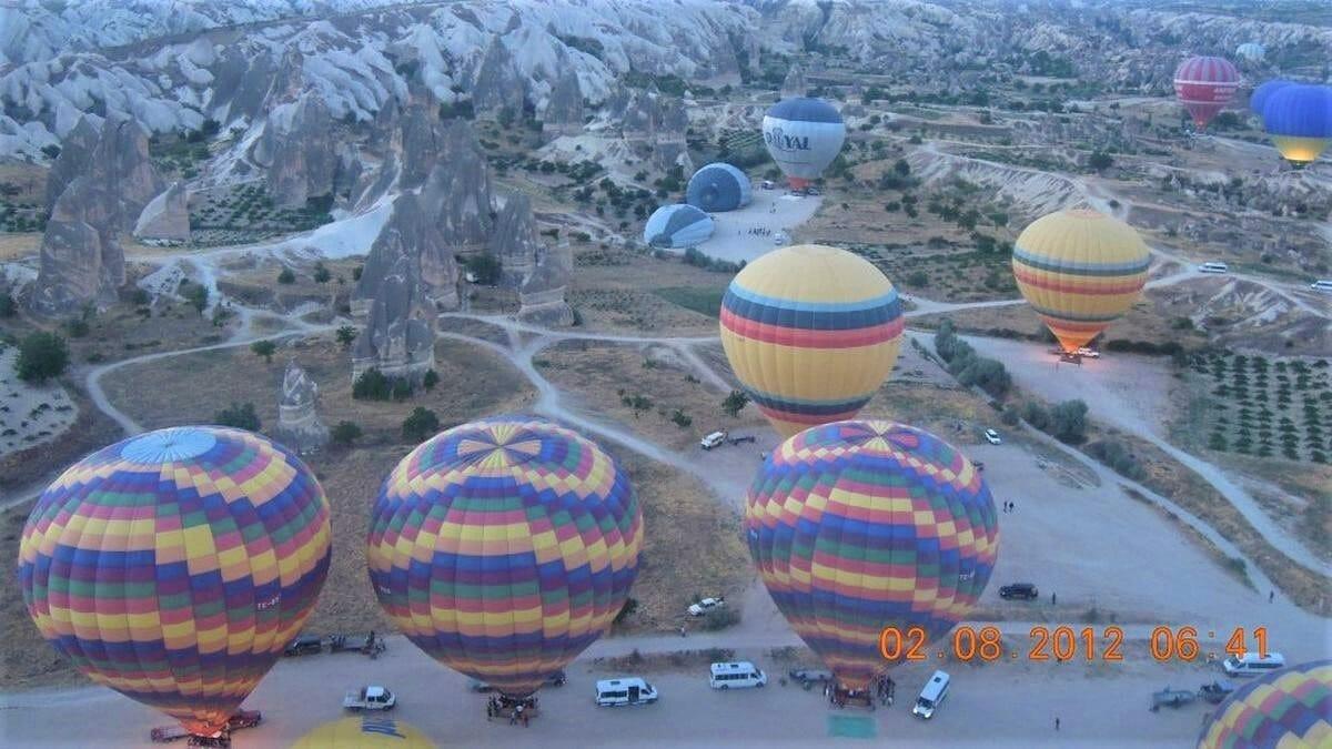 Готовые для полета шары