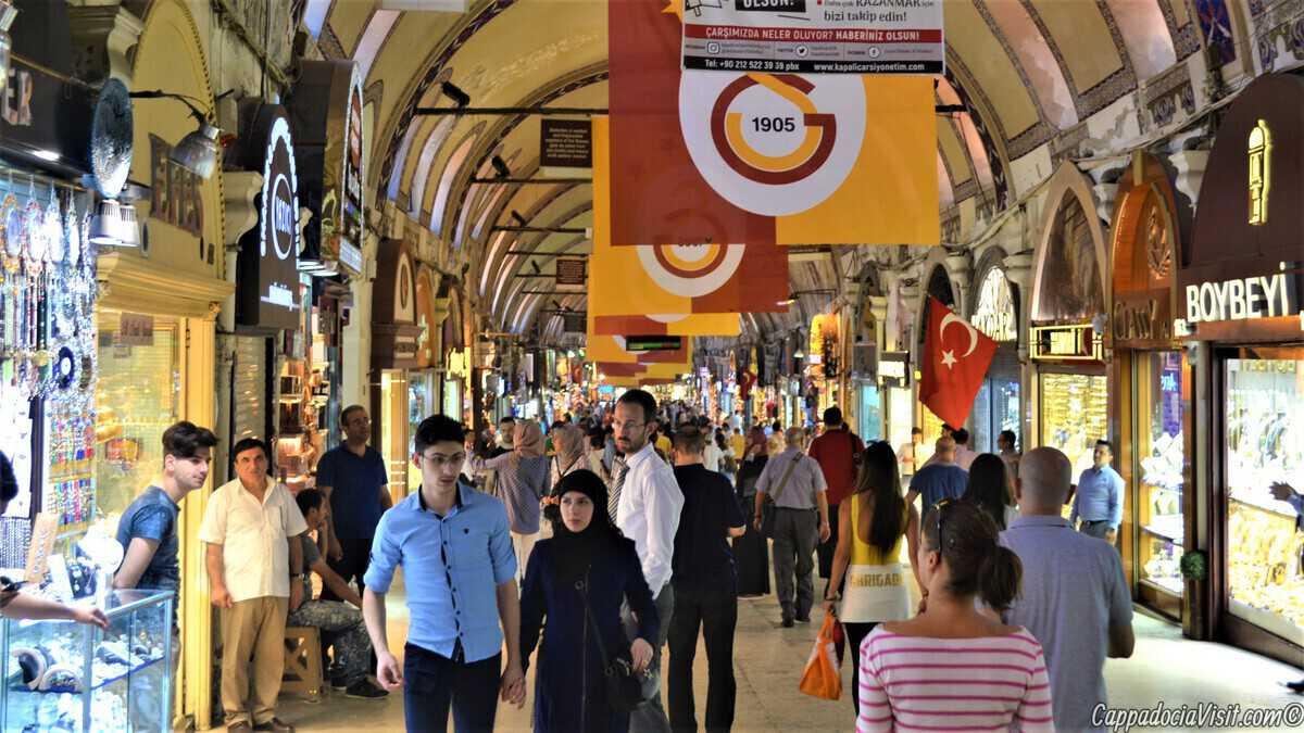 Гранд базар - это целый город в городе