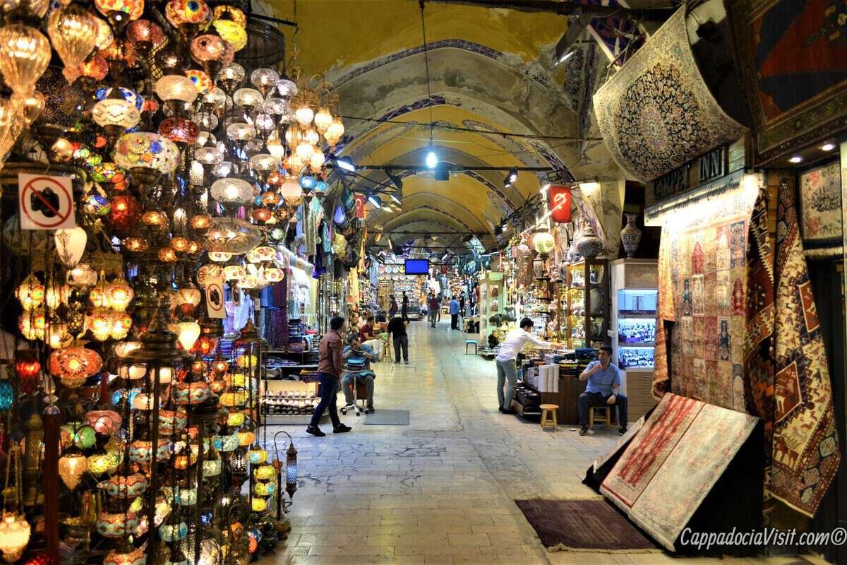 Базары Стамбула - Гранд Базар