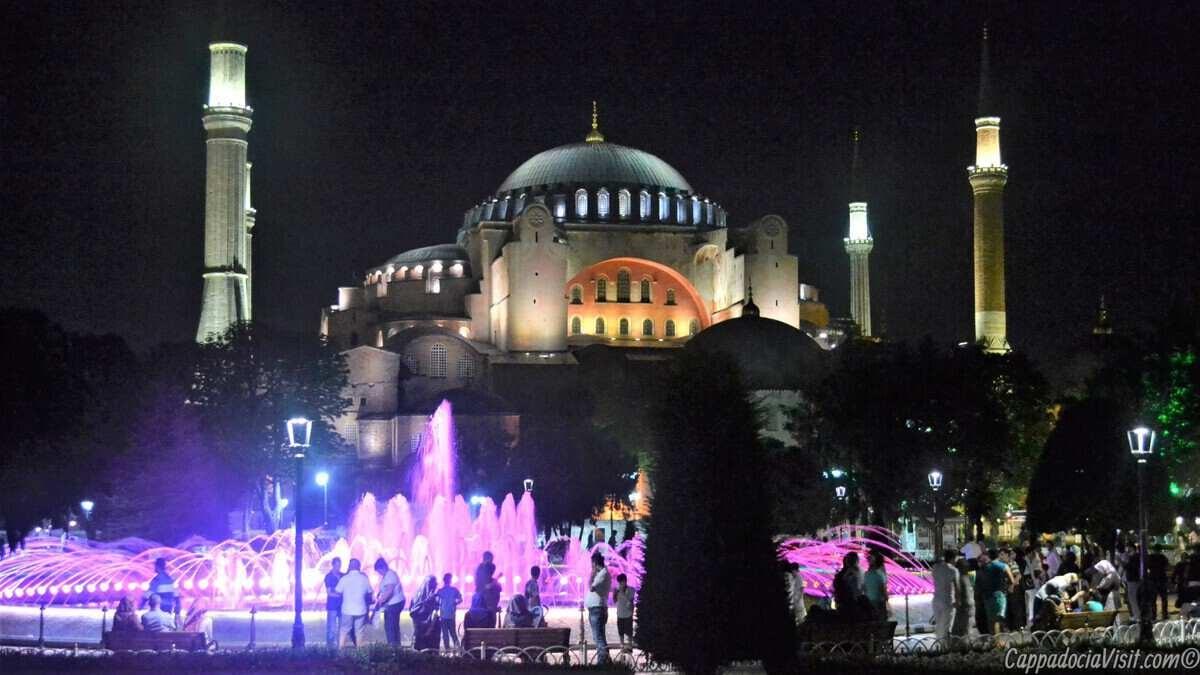 Айя-София в Стамбуле снова стала мечетью