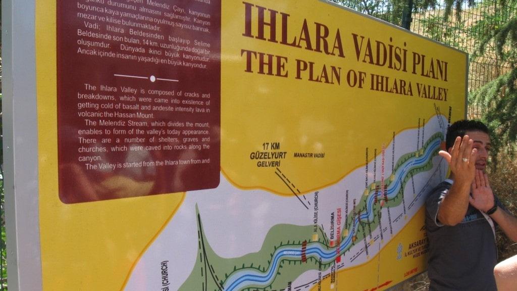 План долины Ихлара
