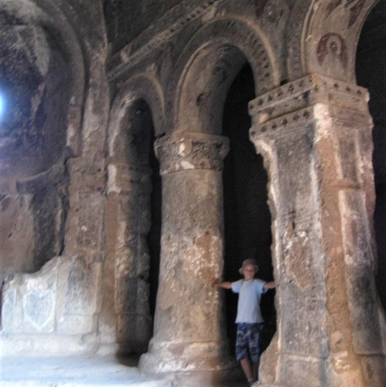 Скальный храм монастыря Селиме