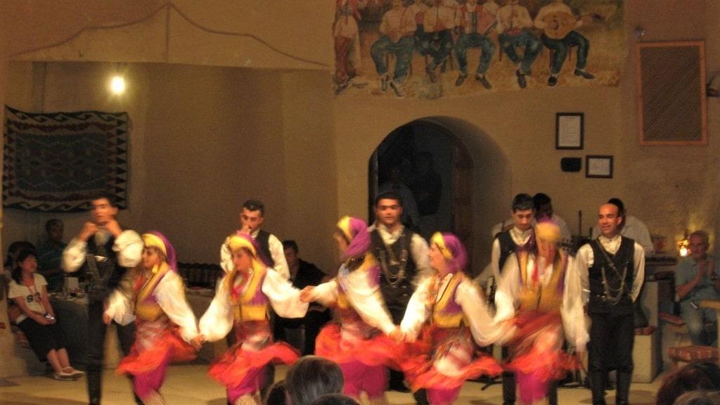 Турецкая ночь - Фольклорные танцы в Каппадокии