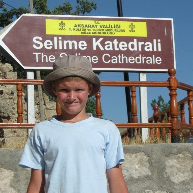Вход в монастырь Селиме