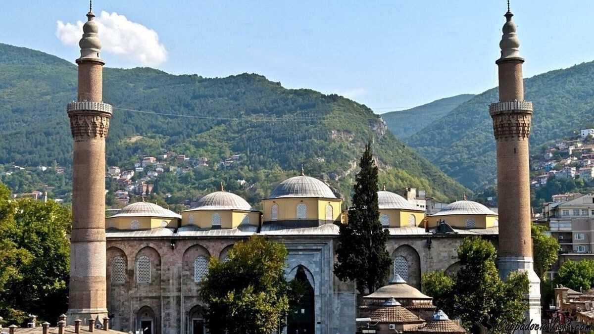 Город Бурса - Мечеть Улу (Большая мечеть)