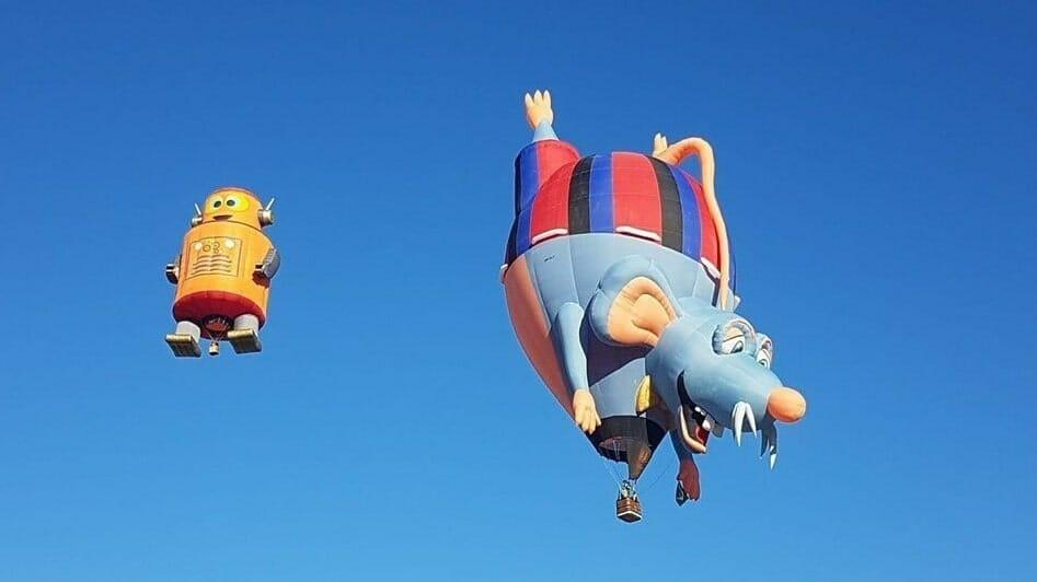 Фестиваль шаров в Ургюпе