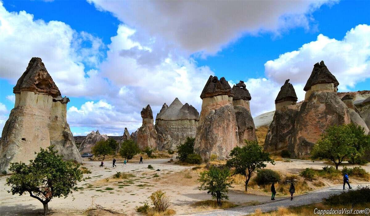 Волшебные камины фей Каппадокии