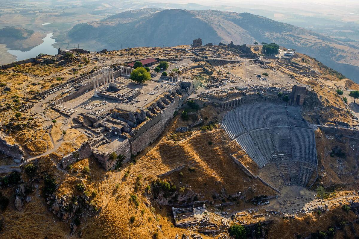 Древний Пергам - акрополь города