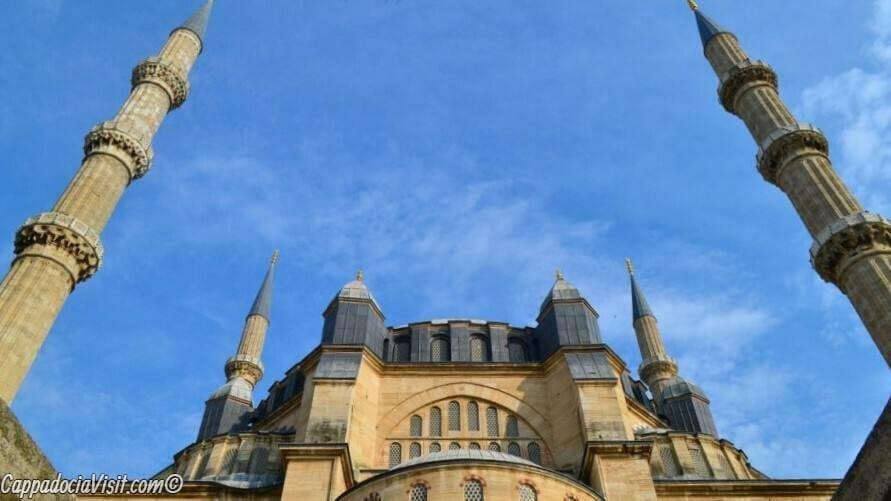 Мечеть Селимие - минареты