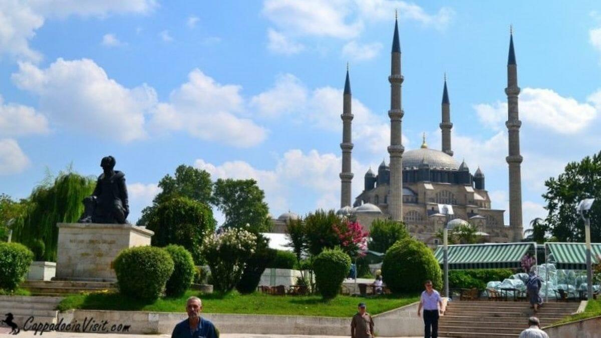 Эдирне и мечеть Селимие