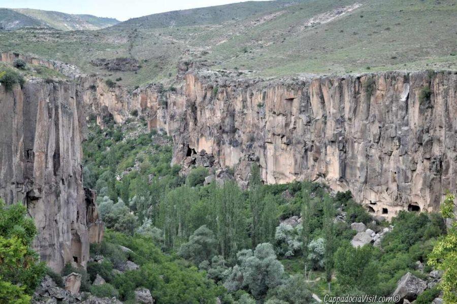 Вид на долину Ихлара